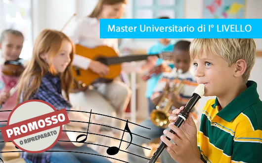 Master di I Livello in Educatore Musicale Professionale