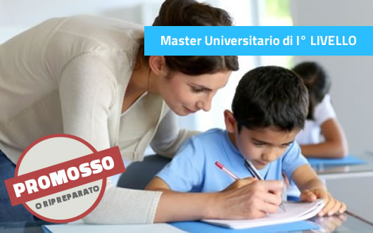 Master I° LIVELLO sui Disturbi specifici apprendimento (DSA)