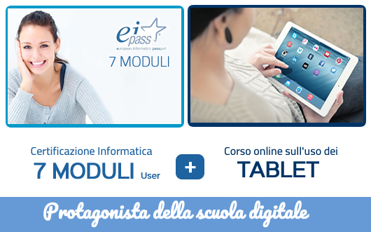DIGITALSchool 7 Moduli User + TABLET